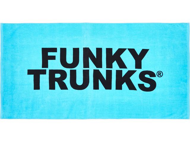 Funky Trunks Towel, still lagoon